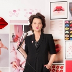 Pink ghd by Lulu Guinness