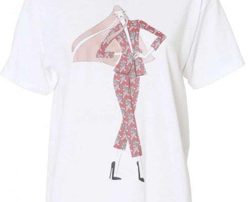 Silvian Heach T-shirt La milanese imbellita