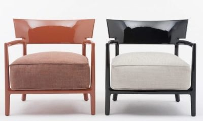Kartell poltrona Cara designed by Philippe Starck