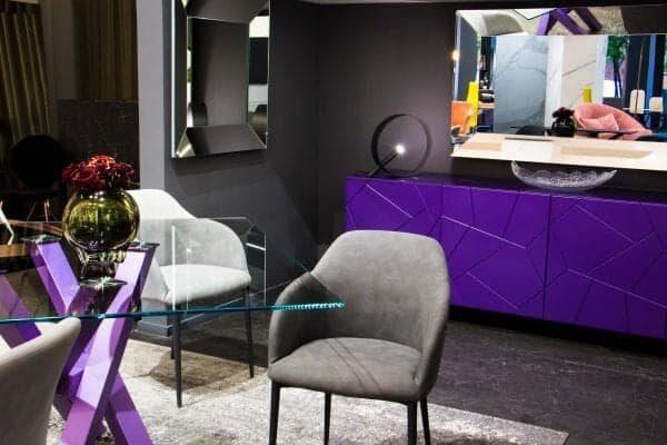 Riflessi credenza Segno in colore Ultra Violet (3)