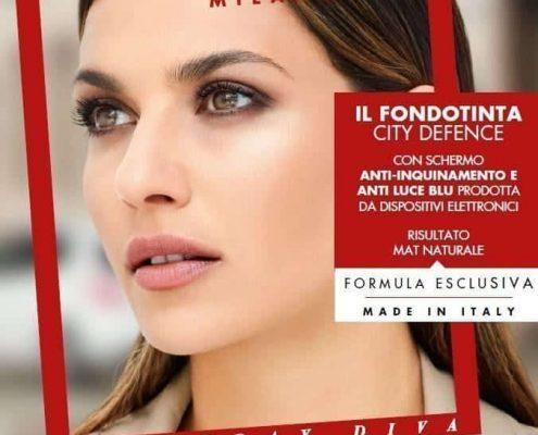 Deborah Milano Il Fondotinta CityDefence anti inquinamento protettivo luce blu da schermi