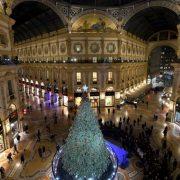 ALBERO di Natale SWAROVSKI a Milano in galleria Vittorio Emanuele II