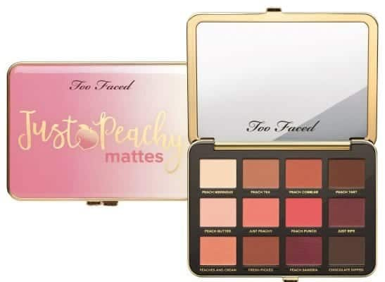 TOO FACED - Just Peachy Matte Eye Palette - Palette di ombretti