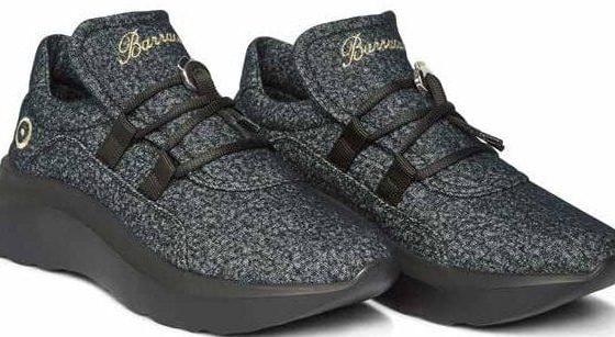 Le sneaker Barracuda con il nuovo tessuto Reda active woolly wool