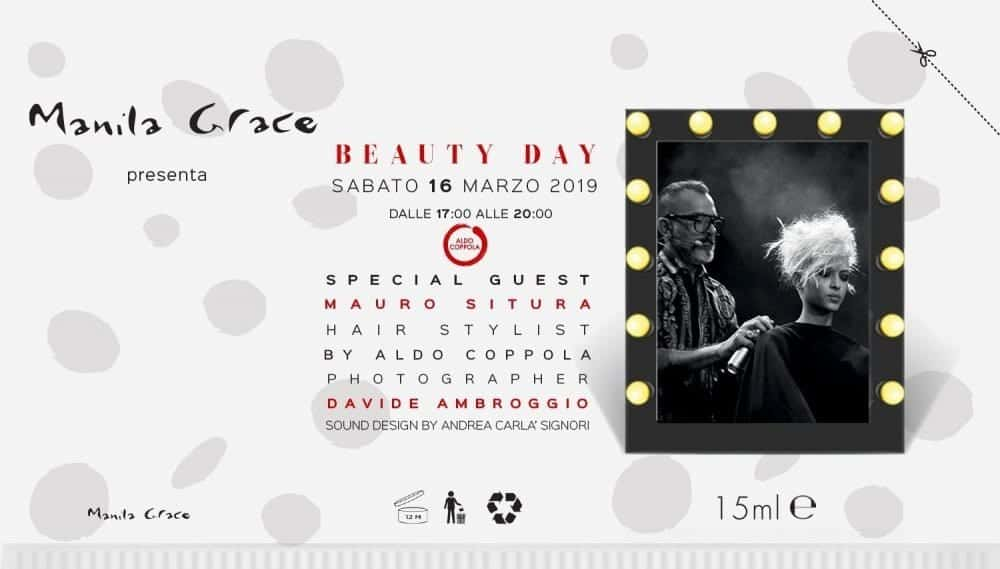 Boutique Manila Grace di Bologna sabato 16 marzo Beauty Day si trasforma in un salone di bellezza