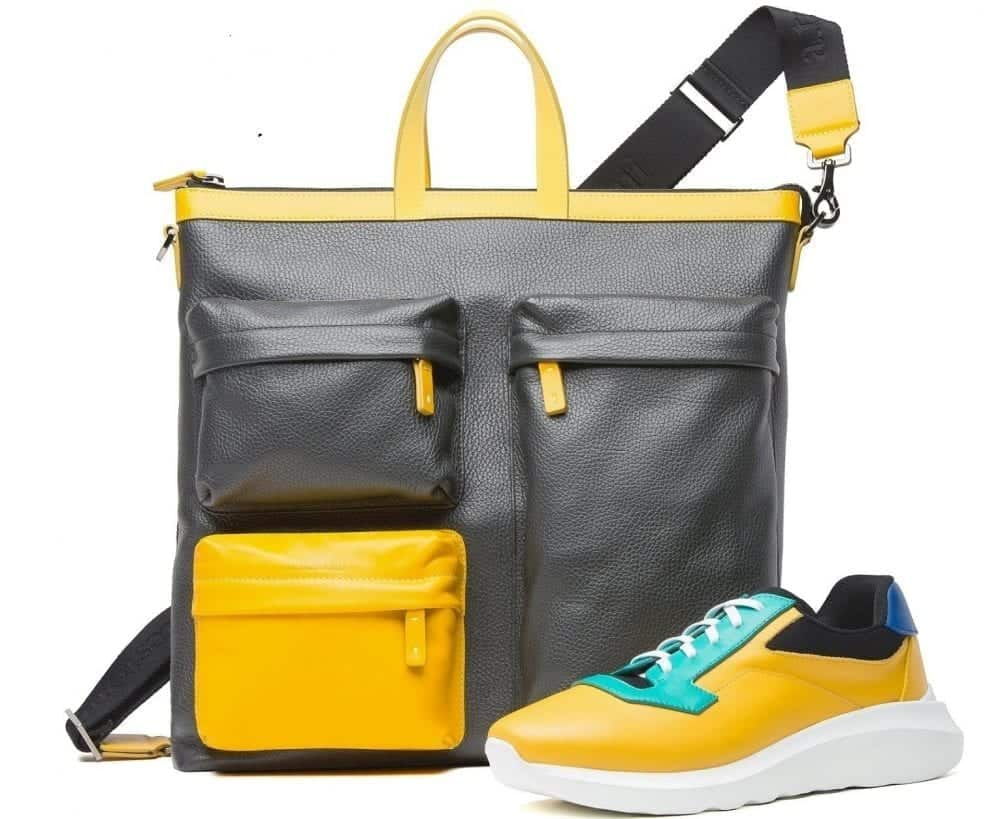 a.testoni SS 2020 - Multifunctional Shopping bag_T-Design sneaker
