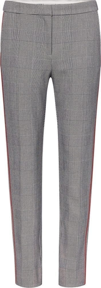 TOMMY HILFIGER Pantaloni donna autunno 2019 CHECK PANT WITH SIDE STRIPE