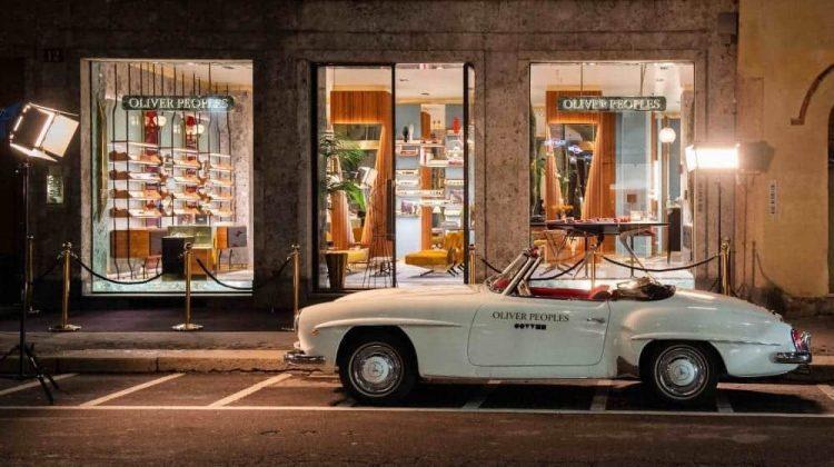 Il nuovo negozio di Milano di Oliver Peoples occhiali