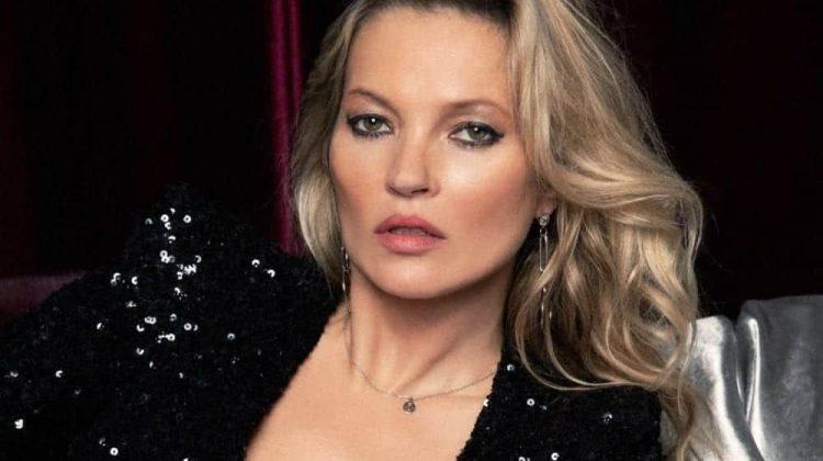 La top Model Kate Moss testimonial per Metrocity nella campagna pubblicitaria AI 2019 2020