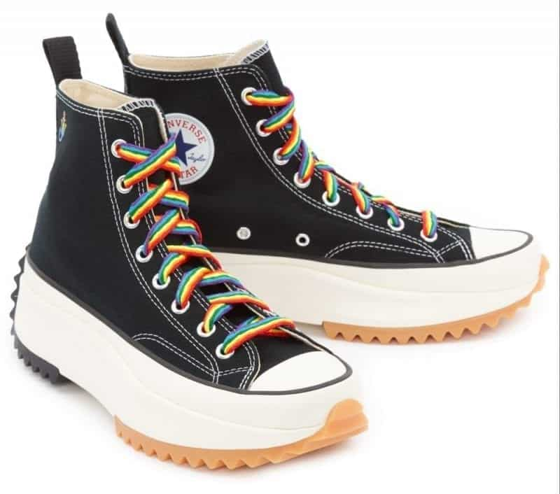 Le nuove sneaker Run Star Hike Converse x JW Anderson