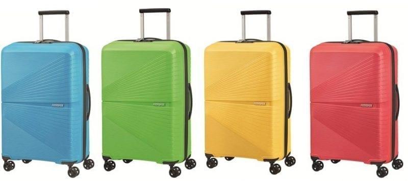 American Tourister presenta 4 nuove colorazioni di Airconic, la valigia rigida più leggera dell'assortimento del brand