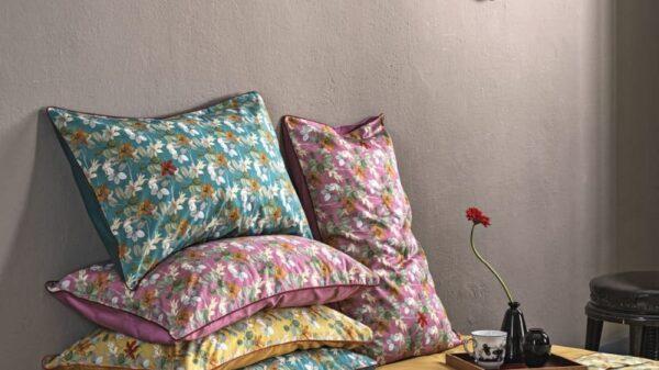Biancheria da letto Fazzini collezione Red House Primavera-Estate 2020