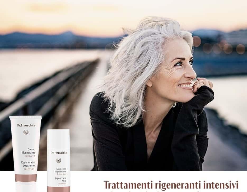 Dr. Hauschka Trattamenti rigeneranti intensivi per pelli mature menopausa