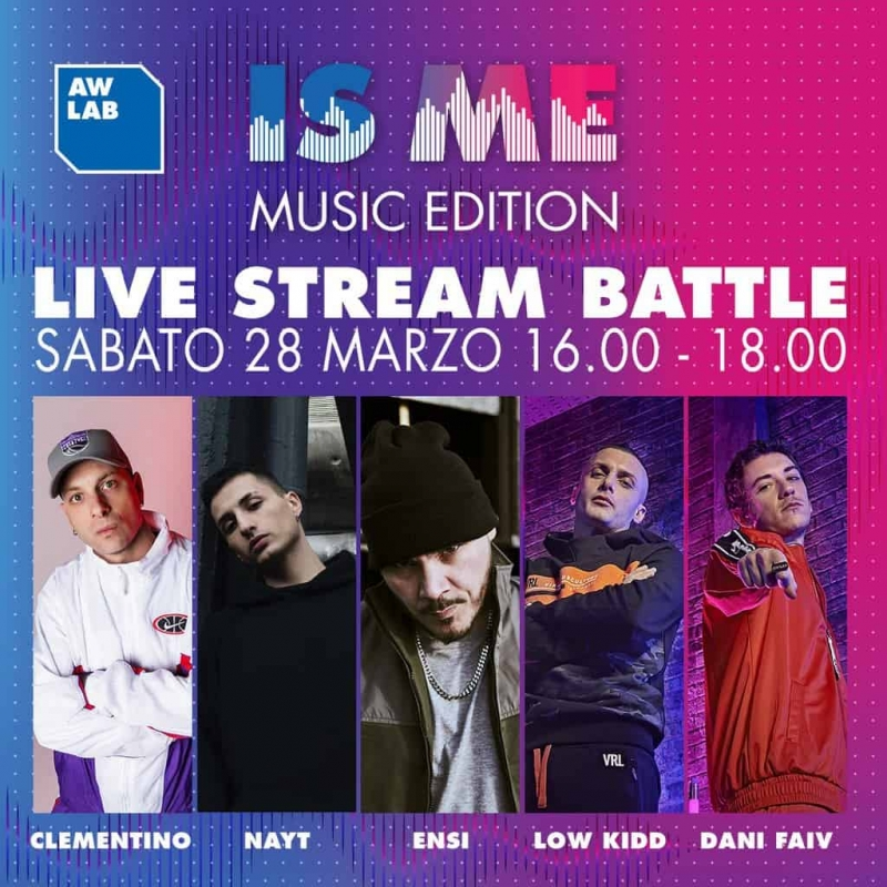 AW LAB IS ME Music Edition occasione in streaming per musicisti emergenti