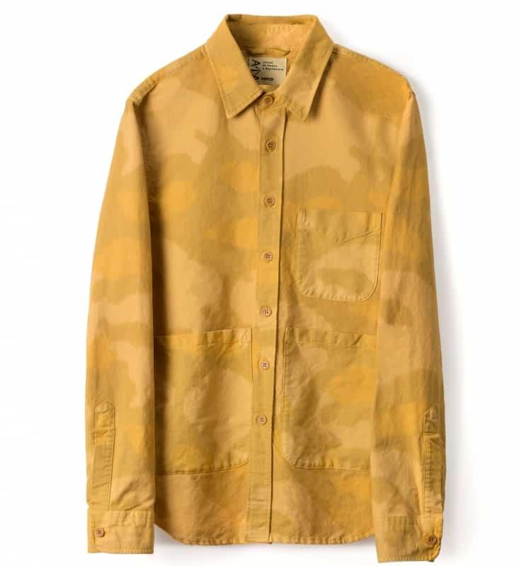 Aspesi capi in tela di cotone camouflage collezione primavera-estate 2020