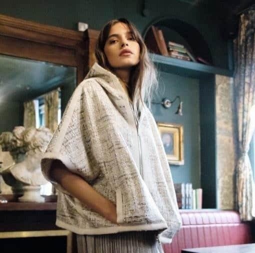 Diego M. capispalla giacche cappe tweed donna primavera estate 2020