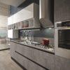 ARAN Cucine composizione Bijou con Grès effetto pietra