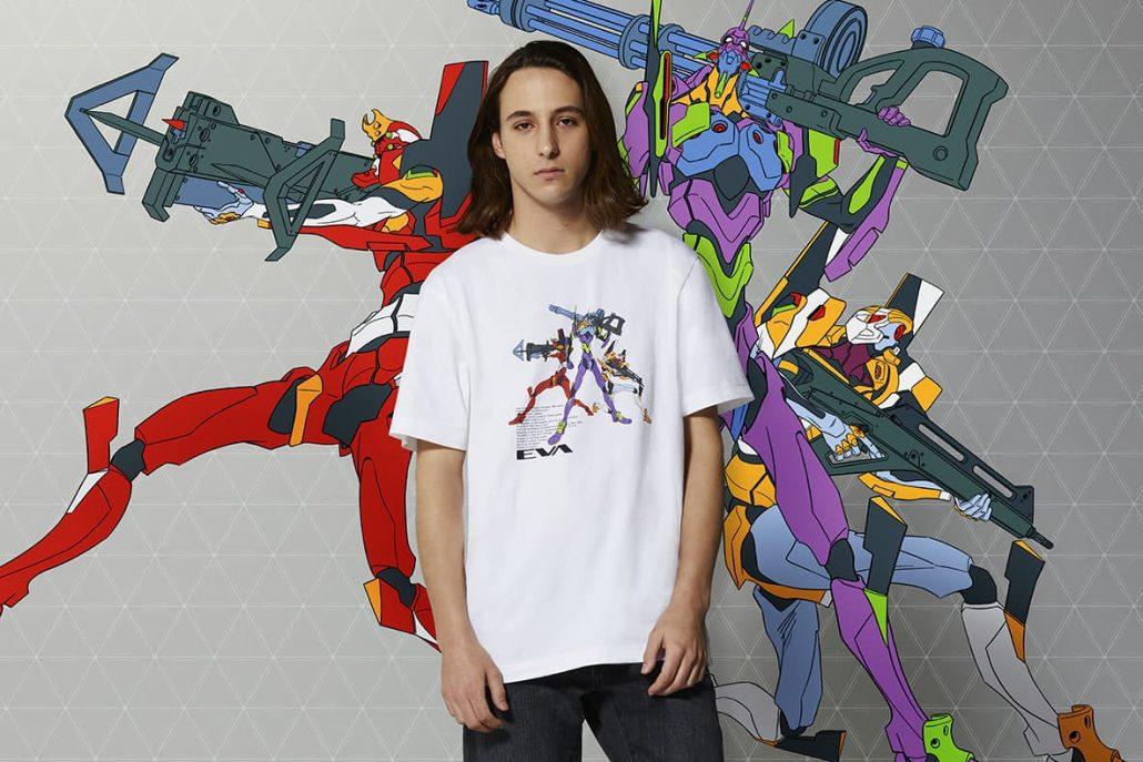 Arrivano le nuove UNIQLO Graphic T-shirt ispirate al film Evangelion 3.0 +1.0 - Thrice upon a Time