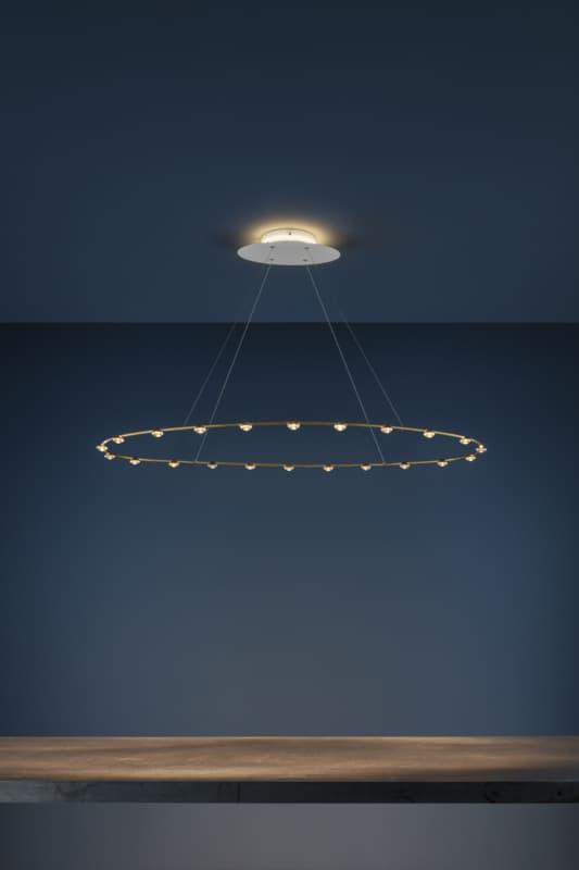 La nuova lampada a sospensione Petites Lentilles di Catellani & Smith,