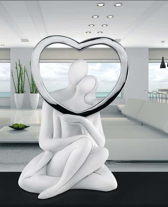 Statuetta innamorati Bongelli preziosi regalo matrimonio fidanzamento anniversario