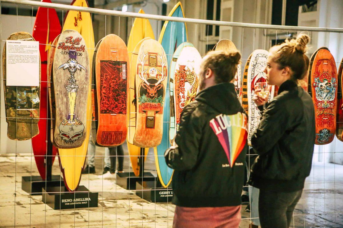 Skate and Surf Film Festival: l'edizione 2020 sarà virtuale. Unimmagine scattata durante ledizione 2019