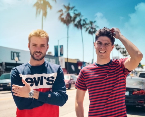 Merk e Kremont i dee jay italiani presenti al Levi's Festival del 20 maggio 2020 su Instagram