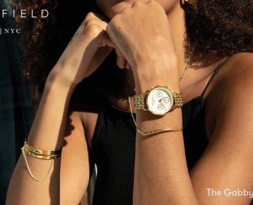 Orologio cronografo donna Rosefield_Gabby