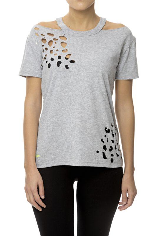T-shirt donna Elettra Lamborghini moda primavera estate 2020