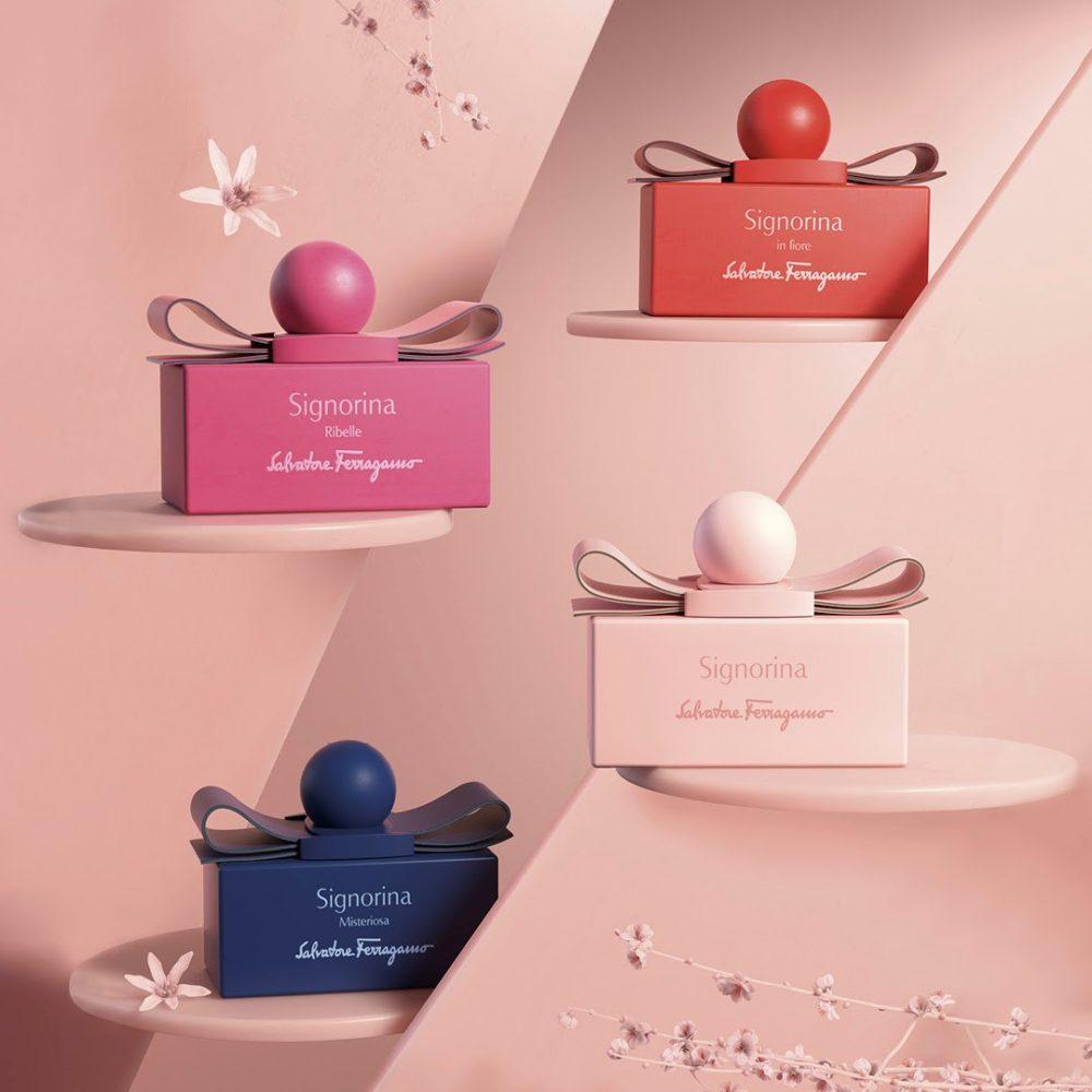 I nuovi profumi donna di Salvatore Ferragamo Signorina Fashion Edition 2020