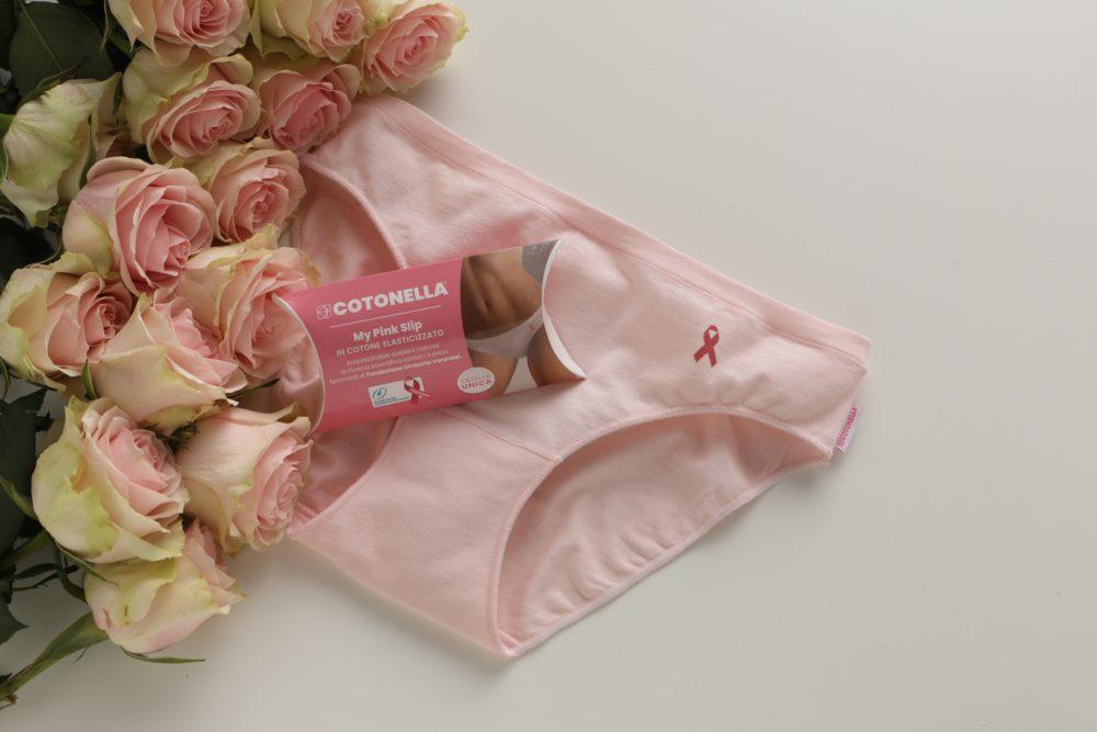 Cotonella, uno slip special edition per aiutare la ricerca scientifica contro il tumore al seno