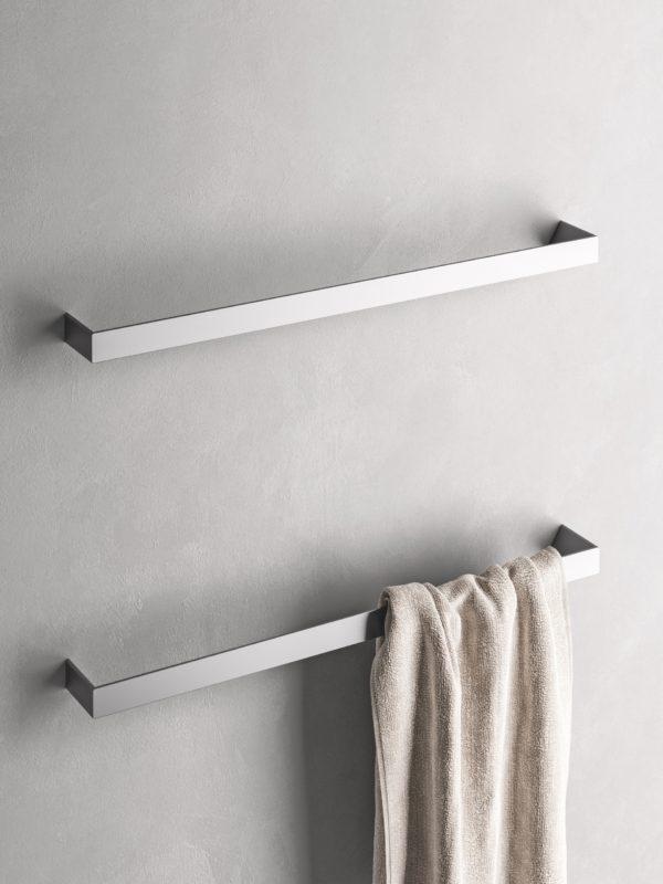 Nuovi accessori per il bagno serie Indissima di Inda