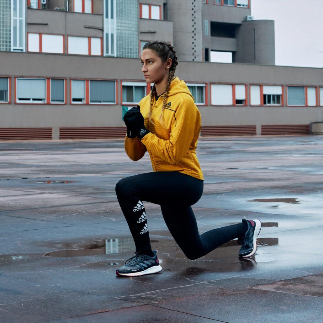 La Medaglia d Oro agli Europei di Nuoto 2018 Simona Quadarella veste adidas COLD.RDY
