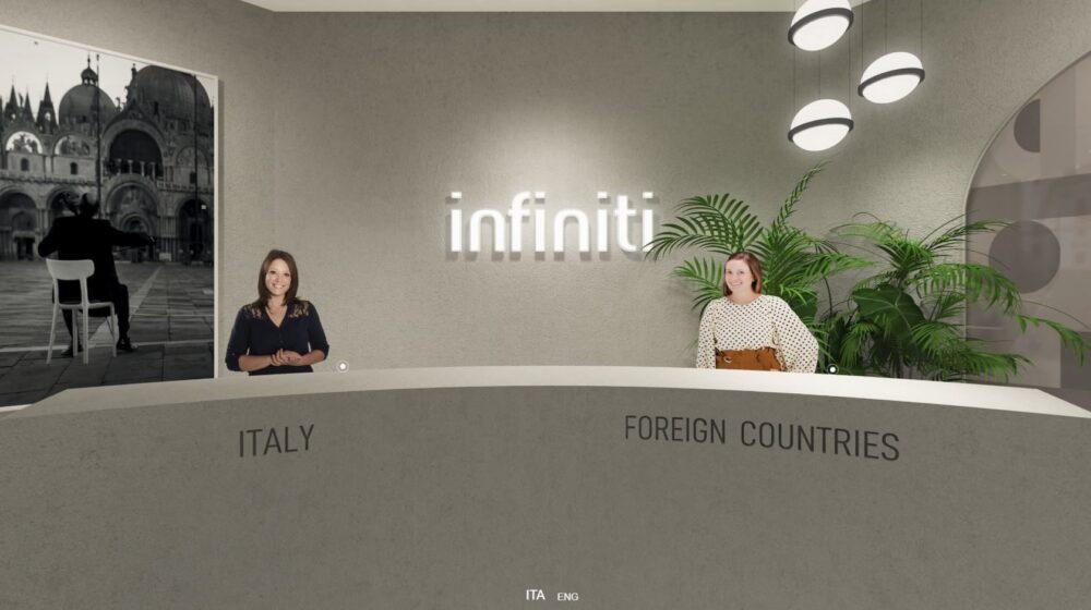 Infiniti virtual tour 02 presentazione virtuale collezione nuove sedie e arredi AI 2020 2 1