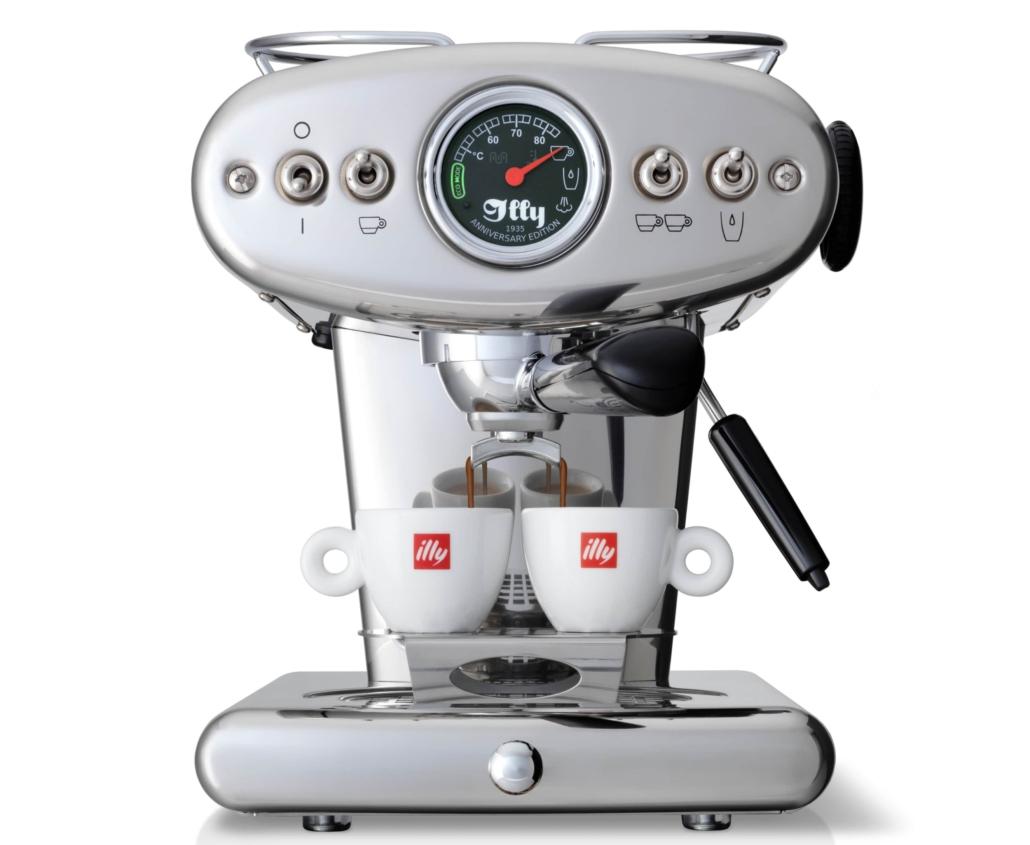 nuova_macchina_caffè_illycaffè_ X1 Anniversary E.S.E. & Ground