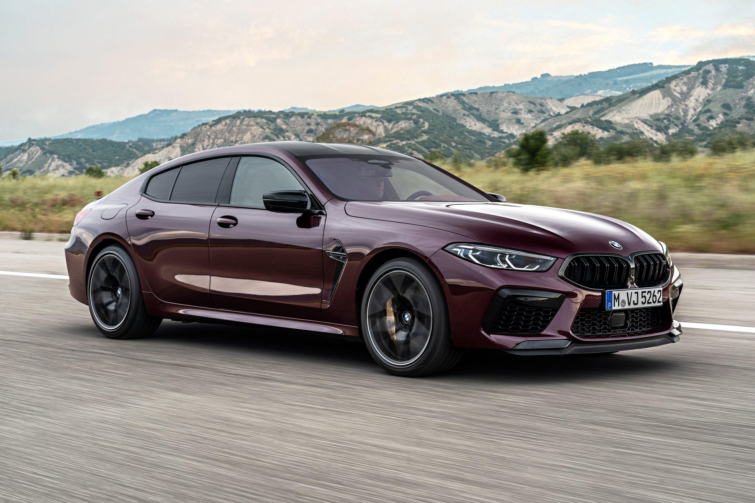 La nuova BMW M8