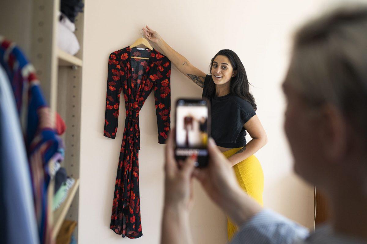 Vinted L app per vendere e comprare vestiti usati