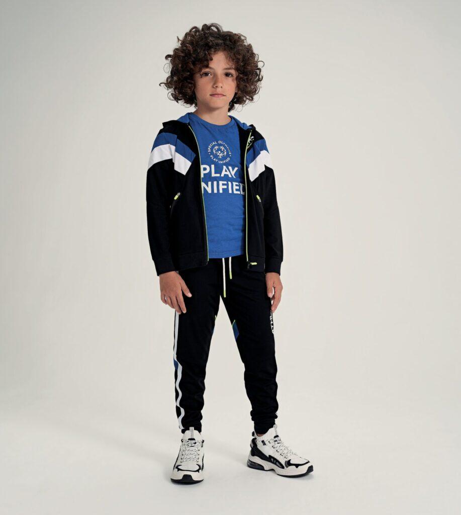 Abbigliamento_bambini_iDO_PE_2021_Collezione_Special_Olympics