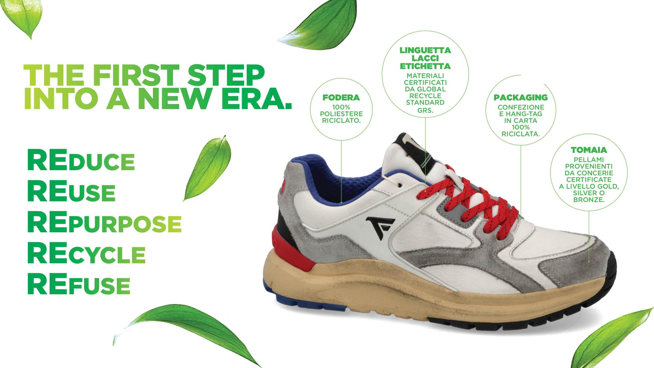 Fred Mello collezione sneaker Autunno-Inverno 2021 2022. Il nuovo modello Licoln Eco-
