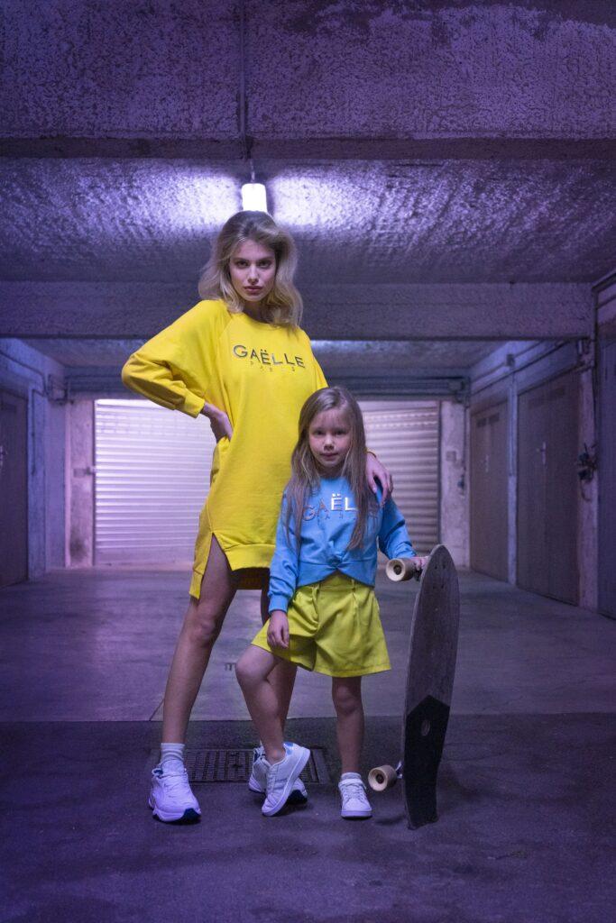 Abbigliamento_donna_bambina_GAELLE_MINIME_Primavera_estate_2021