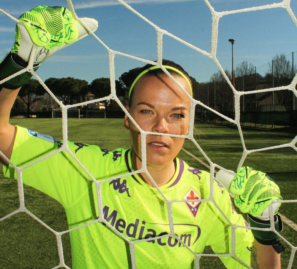 Le ragazze della Fiorentina Calcio_femminile_ per_KEEP PERFORMING è la nuova campagna di Kappa