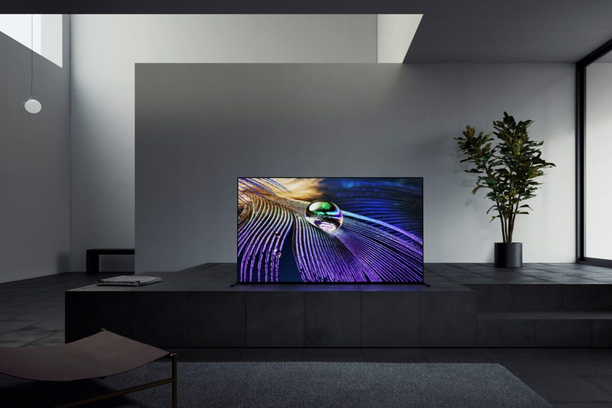 Nuova_tv_Sony_65 MASTER Series A90J OLED TV A90J