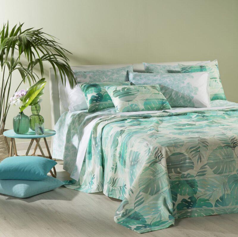 Caleffi collezione Tropical letto cucina pe 2021