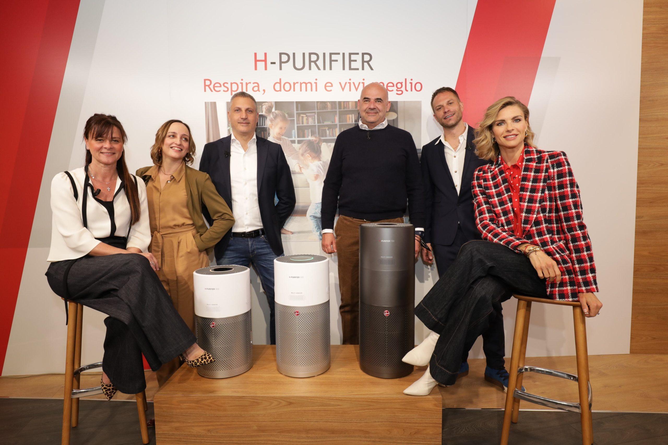 Conferenza Stampa presentazione depuratori d'aria domestici HOOVER PURELIFE