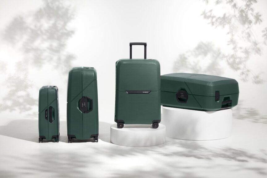Arrivano le Magnum Eco, le nuove eco-valigie di Samsonite in materiale riciclato