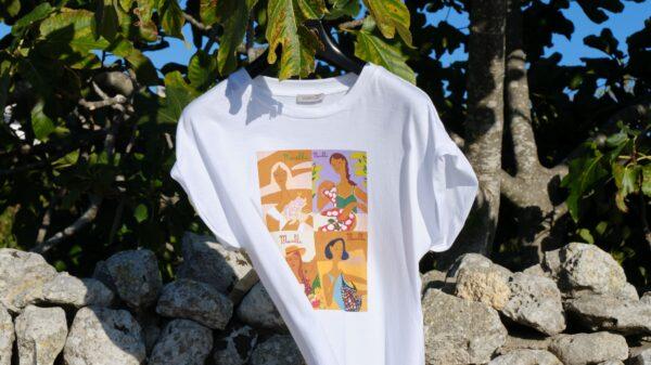 Le nuove T-shirt di Marella disegnate da Giulia Sollai