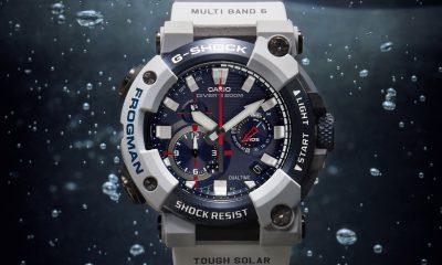 Orologi indistruttibili il nuovo Frogman Royal Navy di Casio G Shock