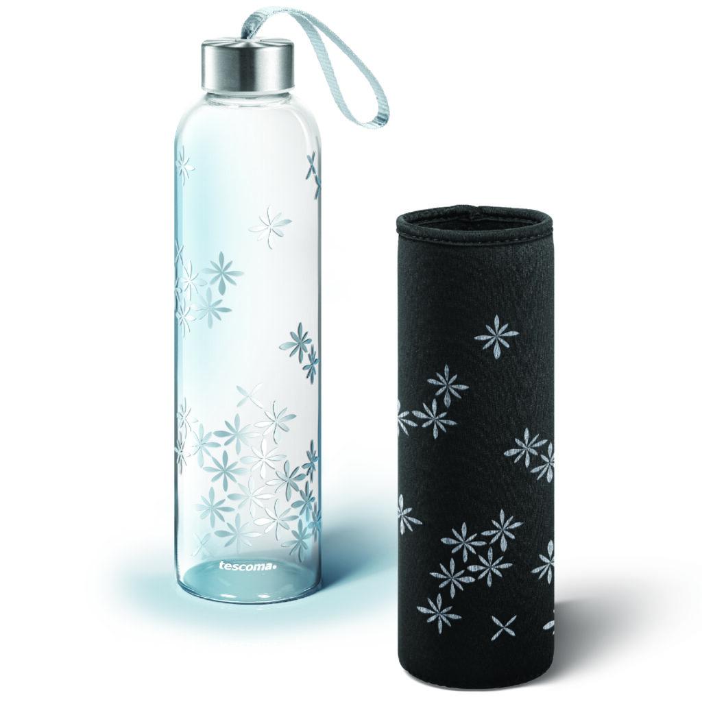 . La custodia termica in neoprene mantiene la temperatura della bevanda all'interno e protegge la bottiglia dagli urti.