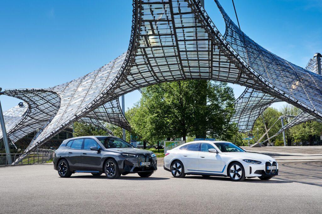 BMW i4 elettrica MY 2022