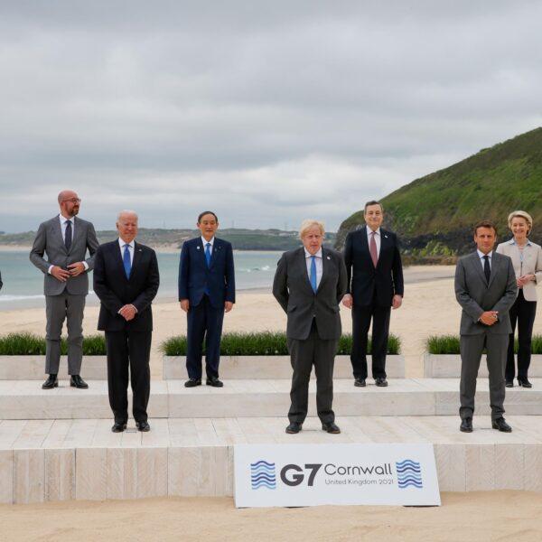 Draghi G7 Cornovaglia