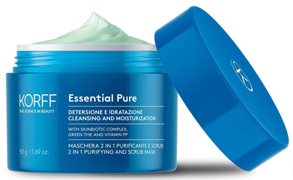 Korff linea essential_maschera_pure_aperta